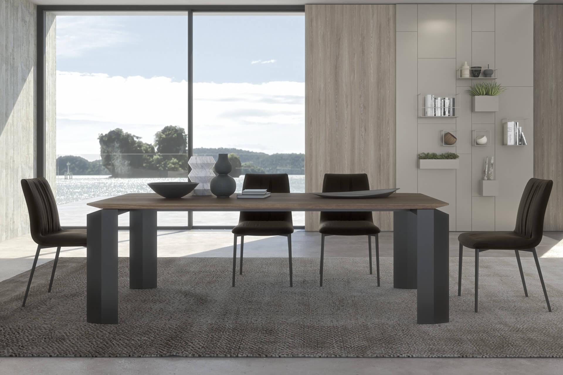 Sedie e sgabelli di design moderno modello 39 nirvana for Ambient arredo sappada