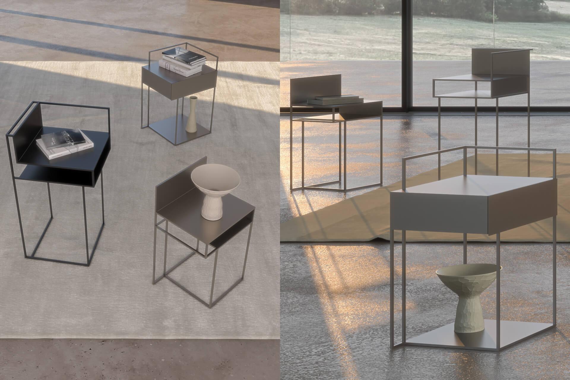 Tavolini da salotto design moderno modello 39 atik for Tavolini per ufficio