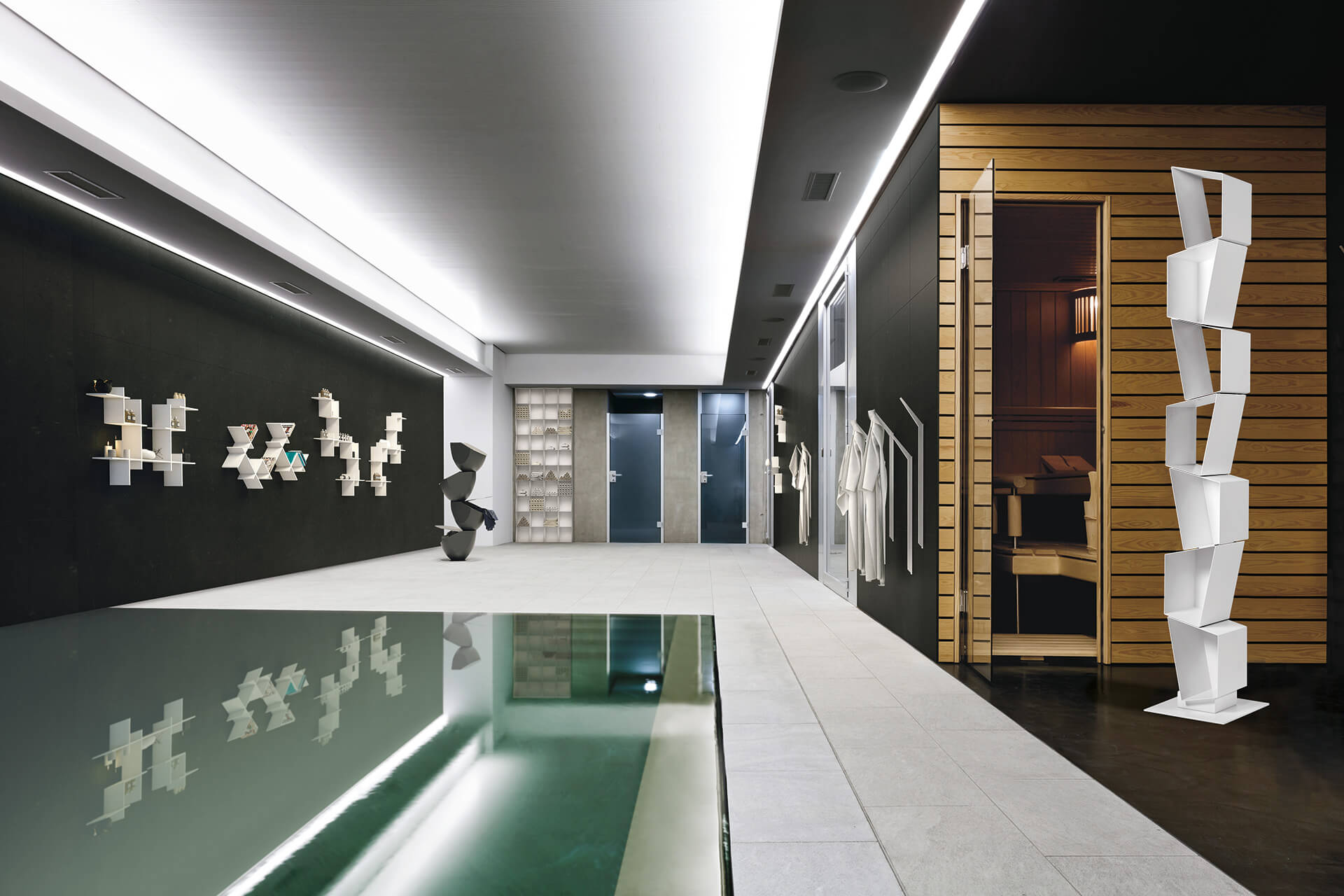 magnetika arredo magnetico hotel interior design foto2