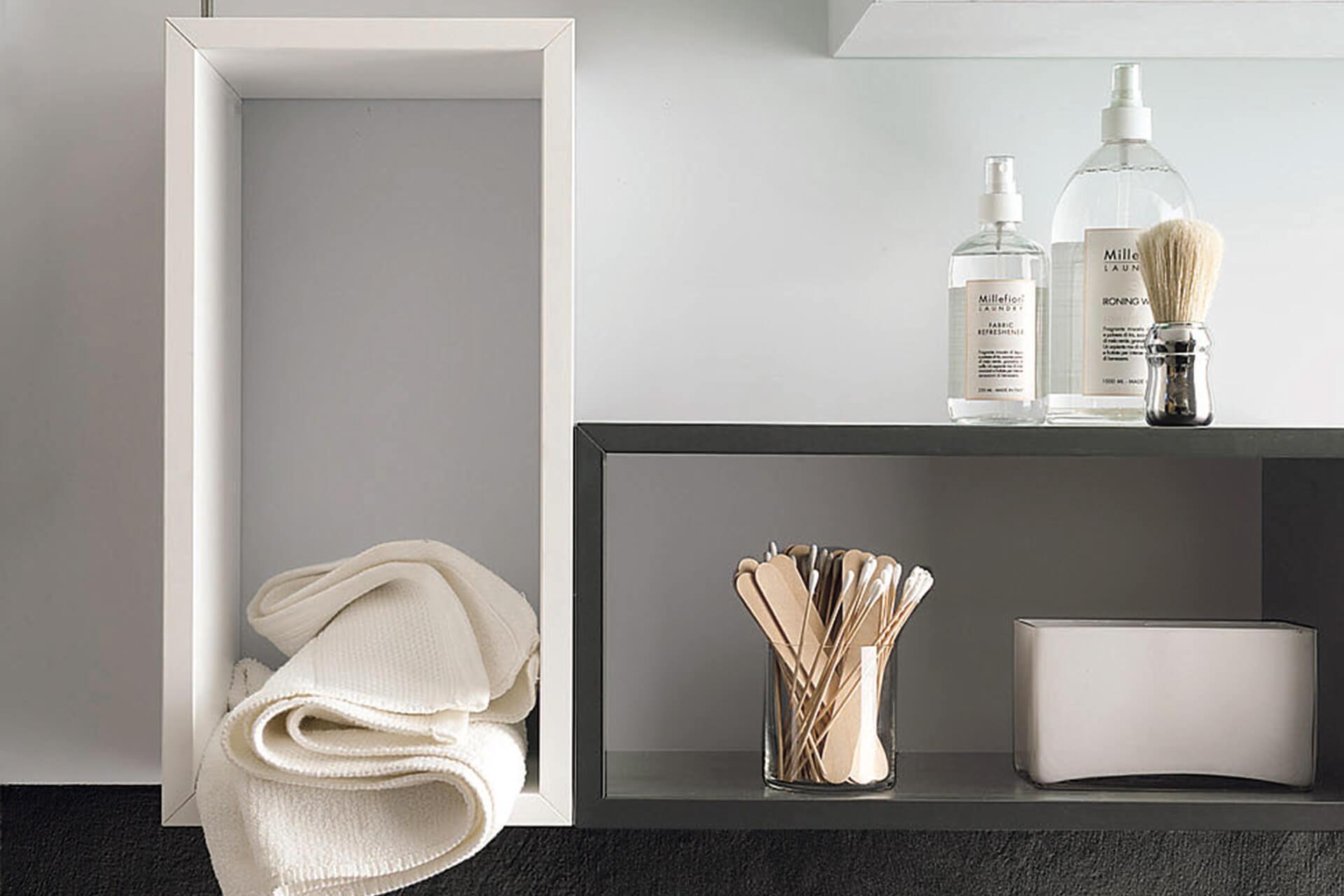 Arredo bagno design magnetika ronda design - Mensole bagno design ...