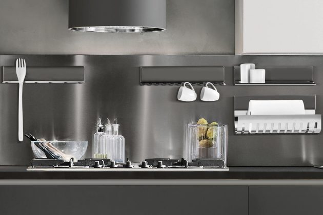 magnetika top cucina con arredo magnetico design