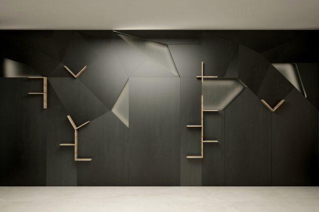 mensole magnetiche di design per uffici magnetika