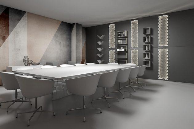 Design ufficio arredo magnetico magnetika ronda design for Arredamento x ufficio