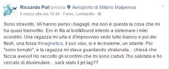 Post Riccardo Poli 1