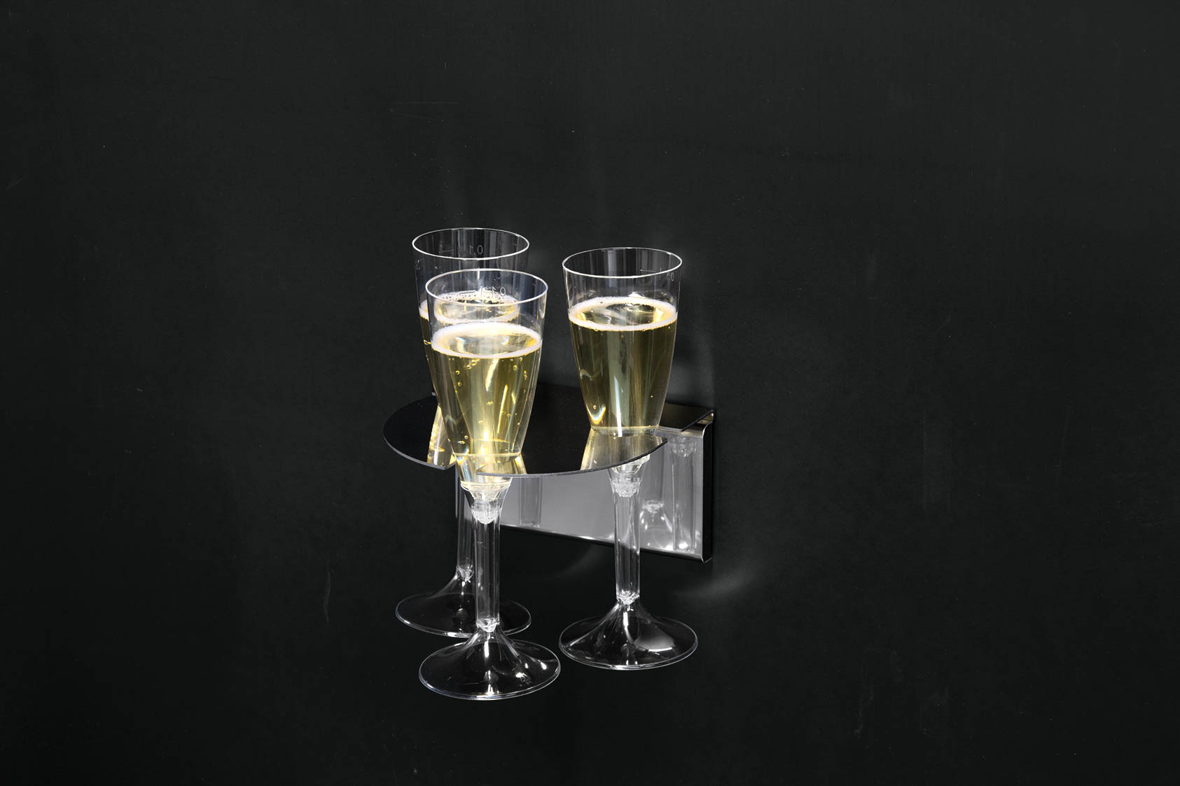 vassoio arredo design magnetico per bar e ristoranti magnetika - design ristoranti e bar - foto12