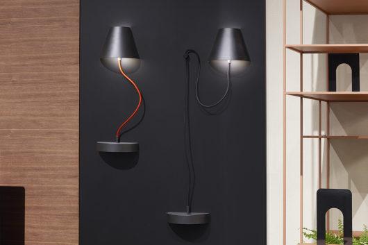 Lapilla magnetic lamp
