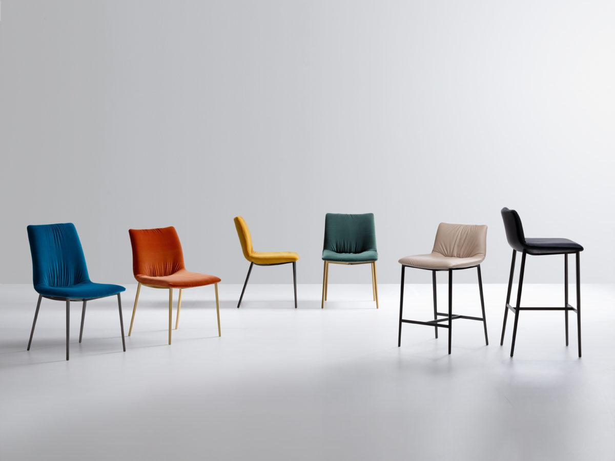 Collezione sedie e sgabelli Nirvana