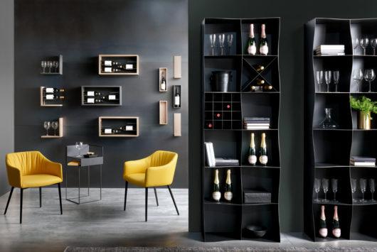 vassoio arredo design magnetico per bar e ristoranti magnetika - design ristoranti e bar - foto14