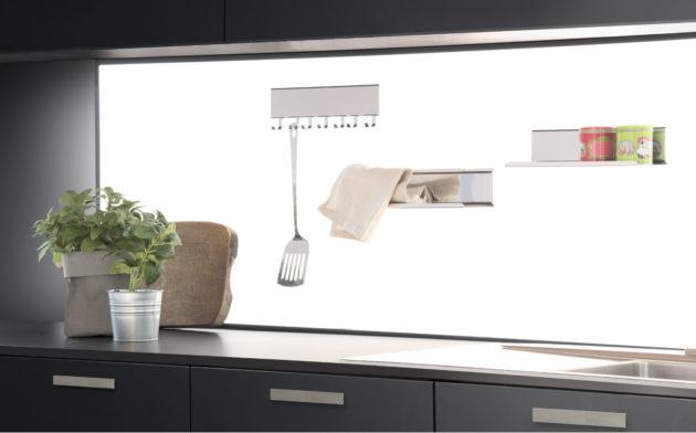 Pannello Cucina Vetro illuminato