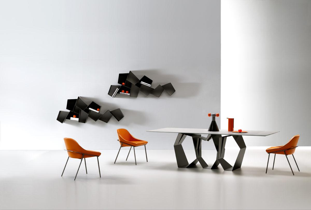 Tavolo quasimodo sedie izoard librerie w su line